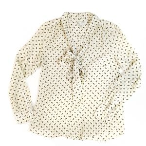 Banana Republic Silk Blouse Size 10